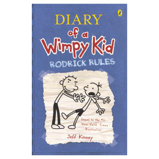 Diary Of A Wimpy Kid Rodrick Rules - Abrams Books - eBeanstalk