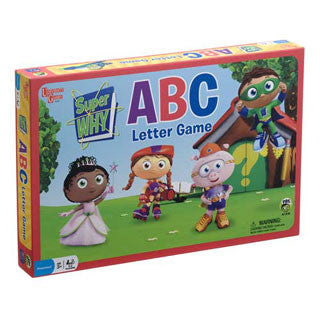 Super Why ABC Letter Game - University Games - eBeanstalk