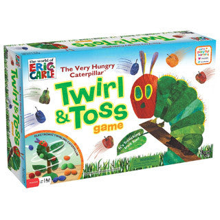 Hungry Caterpillar Twirl & Toss Game - University Games - eBeanstalk