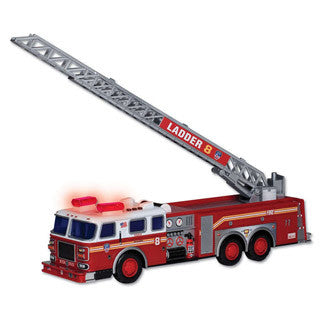FDNY Ladder Truck with Lights and Sounds - Daron - eBeanstalk