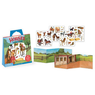 Horses Sticker Fun - Peaceable Kingdom Press - eBeanstalk