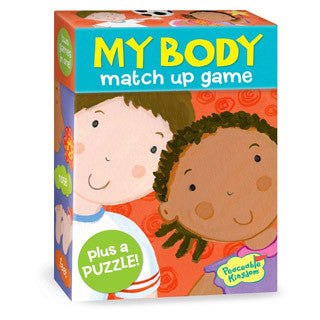 My Body Match Up Game & Puzzle - Peaceable Kingdom Press - eBeanstalk