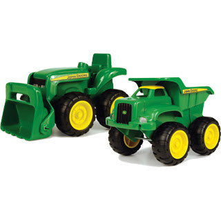John Deere Sandbox Vehicle 2 pack Truck and Tractor - John Deere - eBeanstalk