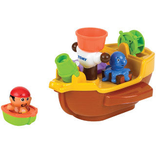 Pirate Petes Bath Ship - Tomy - eBeanstalk