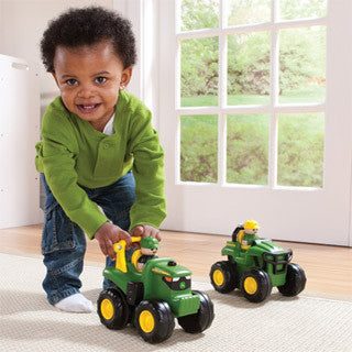 John Deere Push and Roll Tractor - John Deere - eBeanstalk