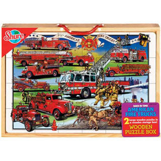 Fire Truck 2 Puzzle Box Set - Shure - eBeanstalk