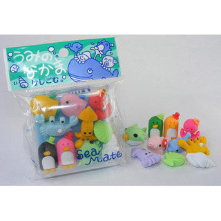 Sea Mate Eraser Box Set - BC USA - eBeanstalk