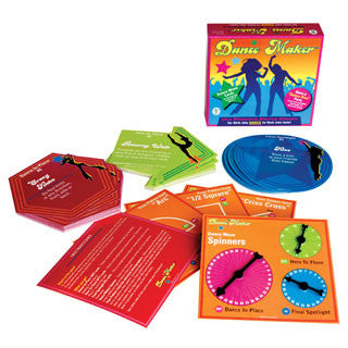 Dance Maker PJ Party Game - Schylling - eBeanstalk