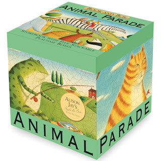 Animal Parade Book & Blocks - Perseus Books - eBeanstalk