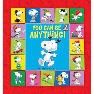 You Can Be Anything - Snoopy Book - Perseus Books - eBeanstalk