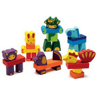 Farm Block Set - Djeco - eBeanstalk