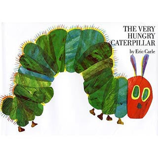 Eric Carle The Very Hungry Caterpillar - Eric Carle - eBeanstalk