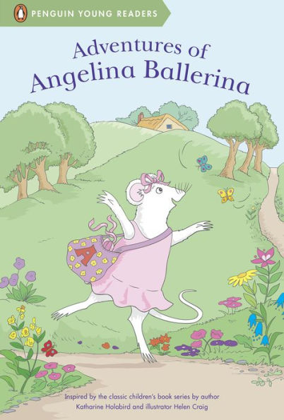 Adventures of Angelina Ballerina Series Books Level 2