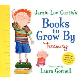 Jamie Lee Curtis Books to Grow By Treasury - Harper Collins - eBeanstalk