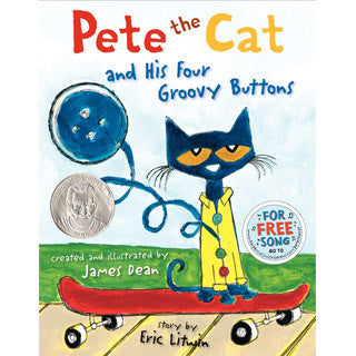 Pete The Cat And His Four Groovy Buttons - Harper Collins - eBeanstalk