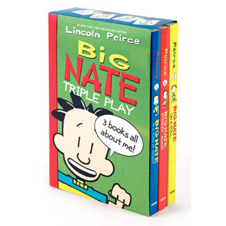 Big Nate Triple Play Box Set - Harper Collins - eBeanstalk