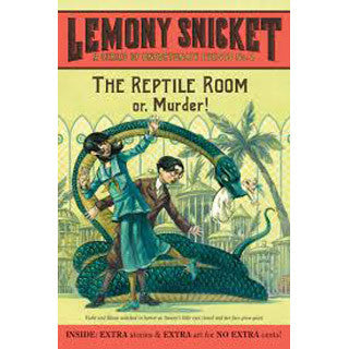 The Reptile Room Book 2 Lemony Snicket - Harper Collins - eBeanstalk