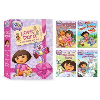 Love, Dora A Storybook Gift Set - Simon and Shuster - eBeanstalk