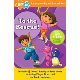 To The Rescue - Nick Jr Ready to Read Boxed Set - Simon and Shuster - eBeanstalk