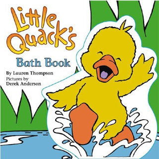 Little Quack Bath Book - Simon and Shuster - eBeanstalk