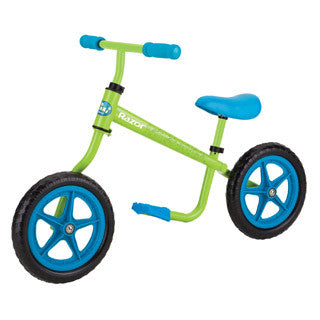 Balance Bike - Blue/Green - Razor - eBeanstalk