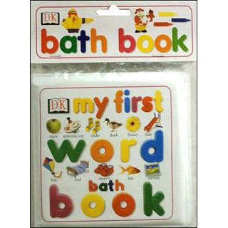 My First Word Bath Book - DK - eBeanstalk