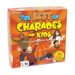Best Charades For Kids Game - Pressman Toys - eBeanstalk