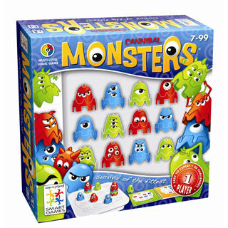 Smart Games - Monsters - Smart-Tangoes USA - eBeanstalk