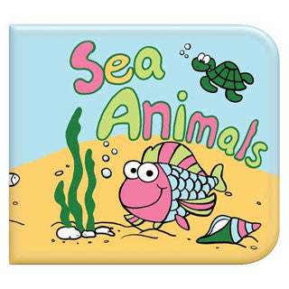 Washable Book - SEA ANIMALS - Kids Touch - eBeanstalk