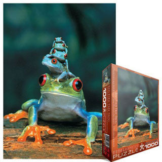 Red Eye Tree Frog Puzzle - Eurographics Puzzles - eBeanstalk