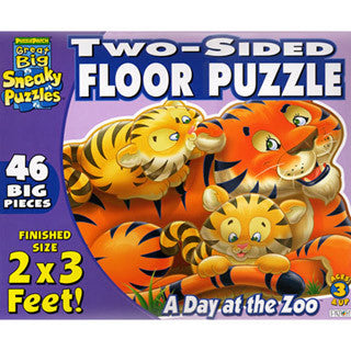 A Day at the Zoo Puzzle - eBeanstalk