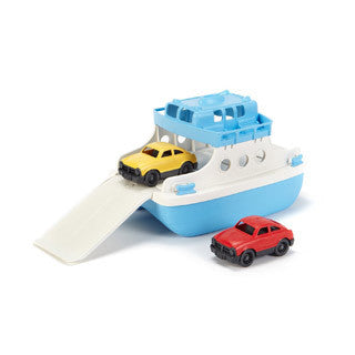 Ferry Boat W Mini Cars - Green Toys - eBeanstalk