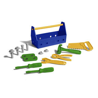 Tool Box Set Blue - Green Toys - eBeanstalk