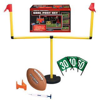 Youth Football Goal Post Set - Franklin Sports - eBeanstalk