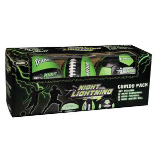 Night Lightening Micro Ball Set - Franklin Sports - eBeanstalk