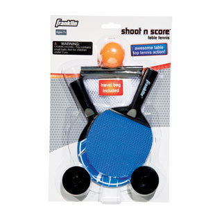 Shoot n Score Table Tennis - Franklin Sports - eBeanstalk