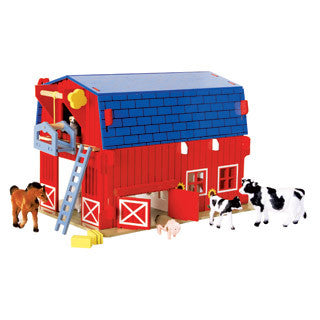 Big Red Barn - Big Jigs Toys - eBeanstalk