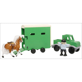 Pick Up Truck and Horse Trailer - Big Jigs Toys - eBeanstalk