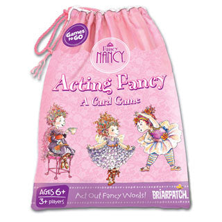 Fancy Nancy Acting Fancy Games to Go - Briarpatch - eBeanstalk