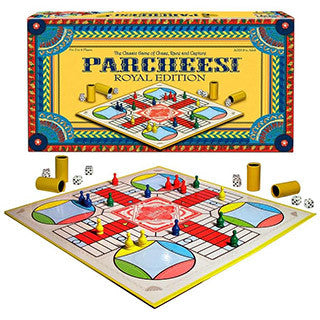 Parcheesi Royal Edition - Winning Moves Games - eBeanstalk