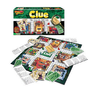 Clue Classic Edition - Winning Moves Games - eBeanstalk
