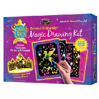 Scratch Magic Princess Drawing Kit - Scratch Art - eBeanstalk