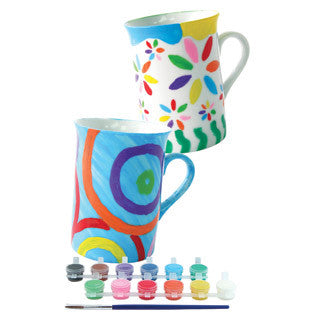 Paint Your Own Mugs - Marlon Creations - eBeanstalk