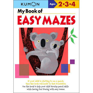 KUMON - My Book of Easy Mazes - Kumon - eBeanstalk
