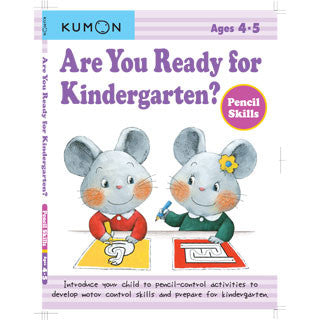 KUMON - Ready for Kindergarten Pencil Skills - Kumon - eBeanstalk