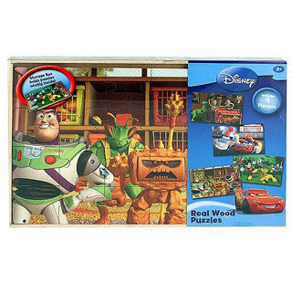 Disney Boys Series of Wooden Puzzles - Cardinal Puzzles - eBeanstalk