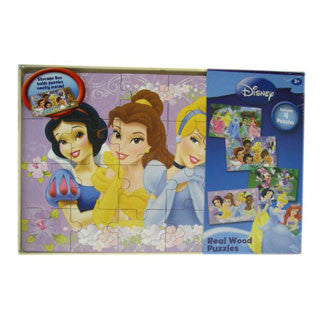 Disney Girls Series of Wooden Puzzles - Cardinal Puzzles - eBeanstalk