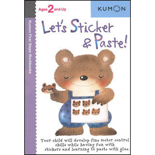 KUMON - Lets Sticker & Paste - Kumon - eBeanstalk