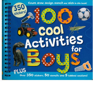 100 Cool Activities For Boys Book - eBeanstalk