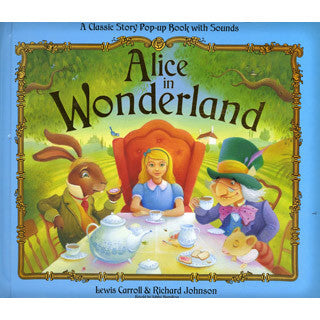 Alice in Wonderland Pop Up Sound Book - eBeanstalk